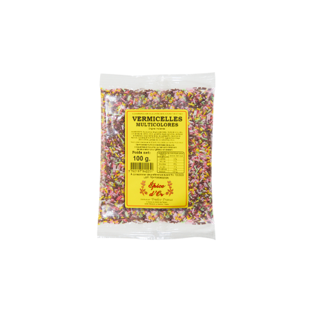 Vermicelles Multicolores 100g