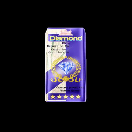 Riz parfumé cassé 1fois DIAMOND 1kg