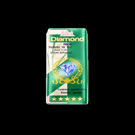 Riz parfumé cassé 2 fois DIAMOND 1kg