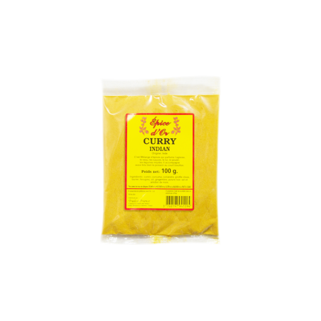 Curry Indian poudre 100g