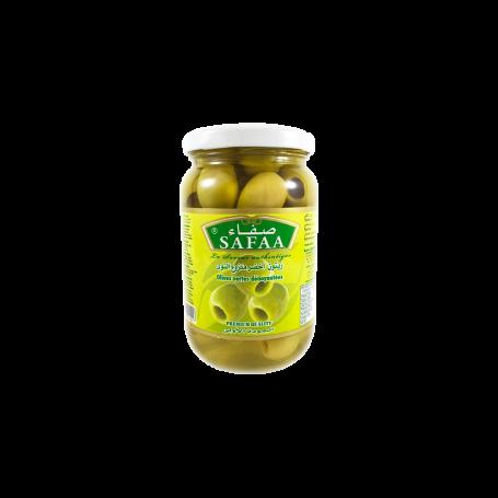 Olives Vertes Denyautées bocal 37cl