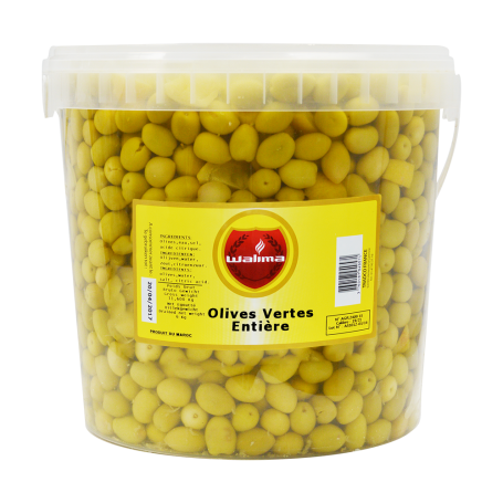 Olives Vertes Entières 8kg