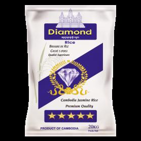 Riz Cambodge Cassé 1 fois DIAMOND 20Kg