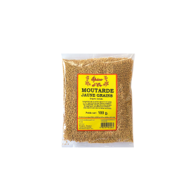 Moutarde Jaune Grains 100g