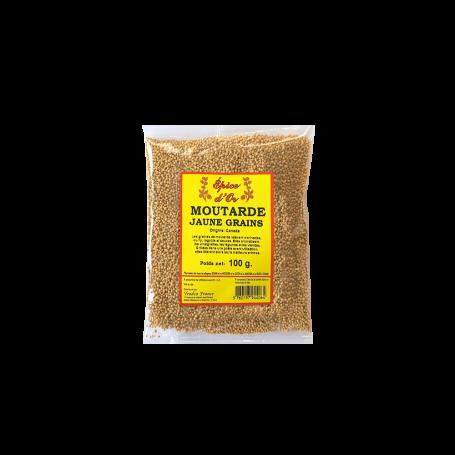 Moutarde Jaune Grains 100g