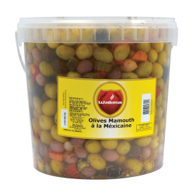 Olives Mamouth à la mexicaine 8kg