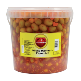 Olives Mamouth Piquantes 8kg