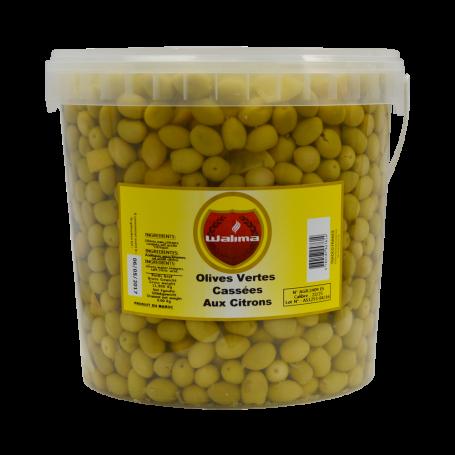 Olives Vertes aux Citrons 8kg