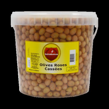 Olives Roses Cassées 8kg