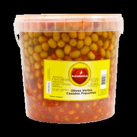 Olives Vertes Piquantes 8kg