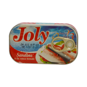 Sardine JOLY Tomate 125g