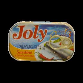 Sardine JOLY huile pimenté 125g