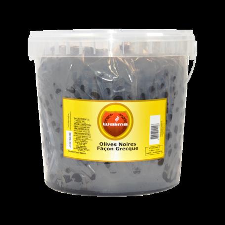 Olives Noires Façon Grecque 8kg