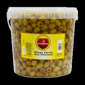 Olives Farcie aux Poivrons 7kg